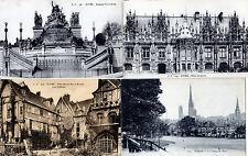 Lot Of 6 Antique Original Postcards - Rouen, France
