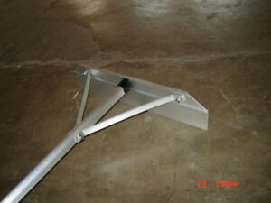 12ft Lightweight Roof Rake Snow Removal Tool Adjustable