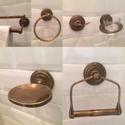 Bathroom Accessories Brass Bronze, Bathroom Accessories Bronze