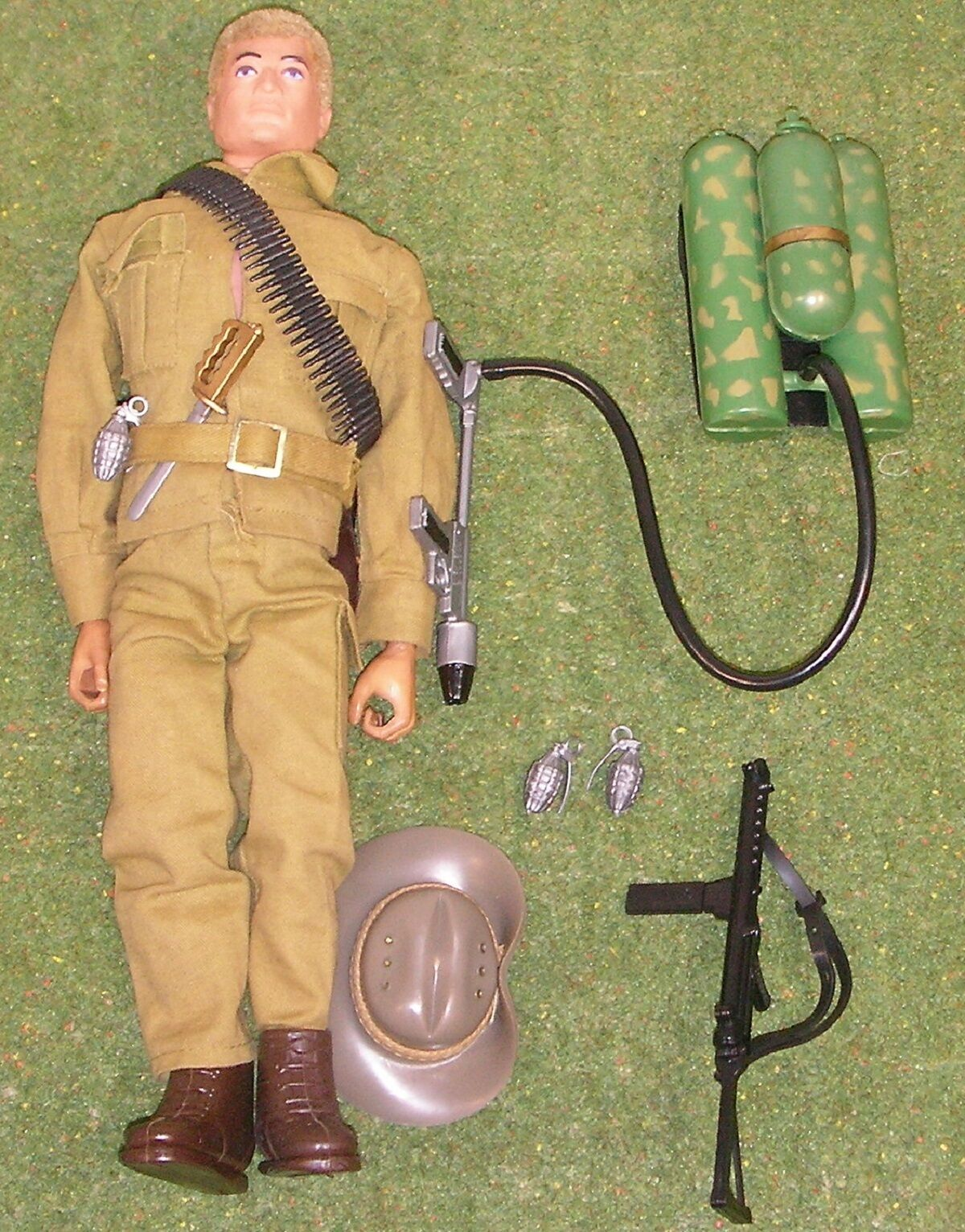 Original vintage action man loose australian jungle fighter tard issue 103