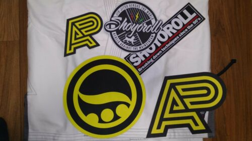 5Piece Jiu Jitsu Gi Patch Shoyoroll athlete patch Set