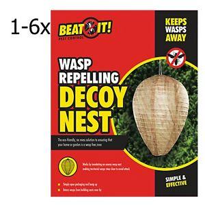Eco-friendly Leurre Nid De Guêpe Répulsif Imitant Ennemi Wasp Freezone Poison Gratuit-afficher Le Titre D'origine