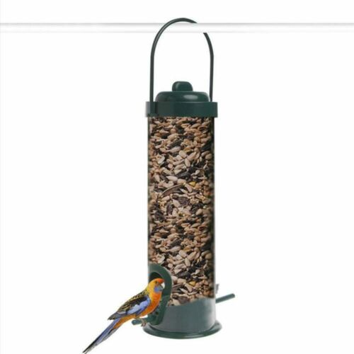 Bird Feeder Classic Tube Hanging Feeders for Finches Bird Seed and Gardens