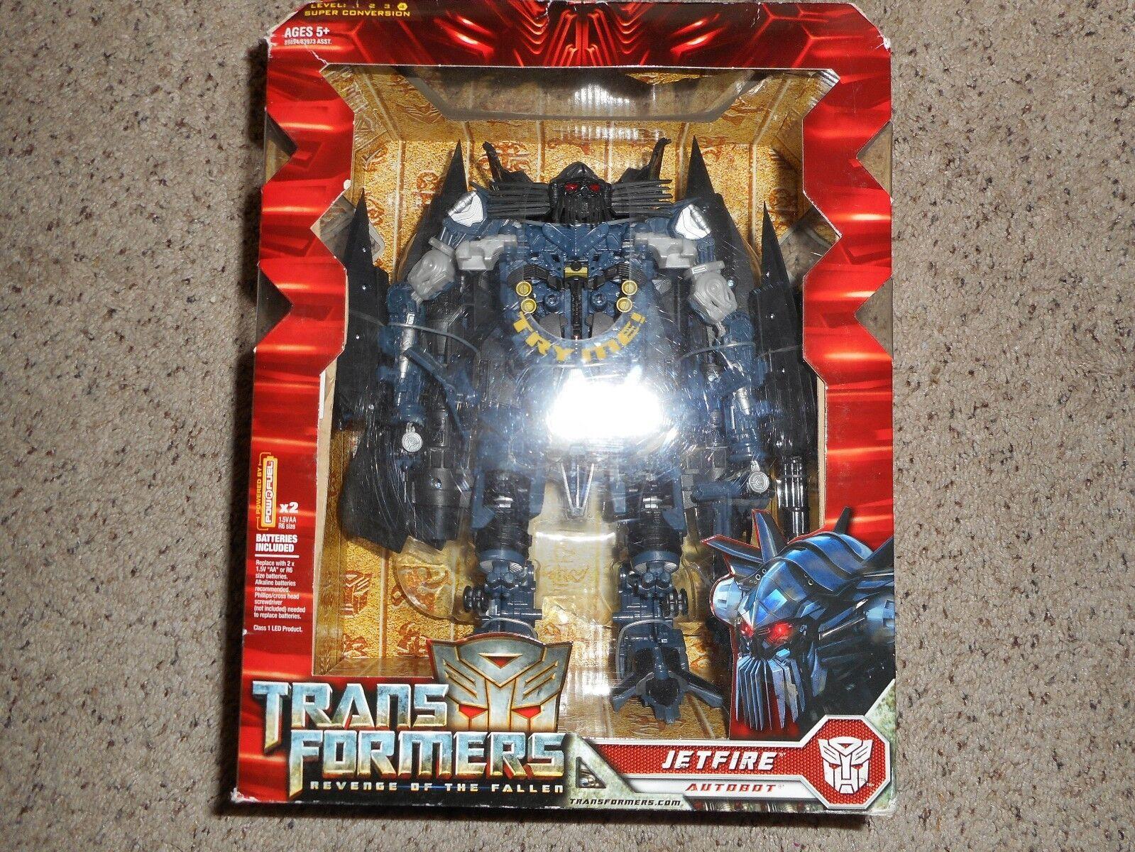 Hasbro Transformers Transformers Transformers ROTF Leader class Jetfire, MISP MISB bc374c