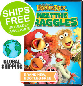 Fraggle Rock Meet the Fraggles (DVD, 2013) NEW, Jim Henson, Muppets, Retro TV