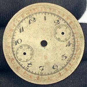 Unknown-Chronographe-Sphere-Montre-Vintage-Cadran-Remplacement-29-5-mm-Quadrants
