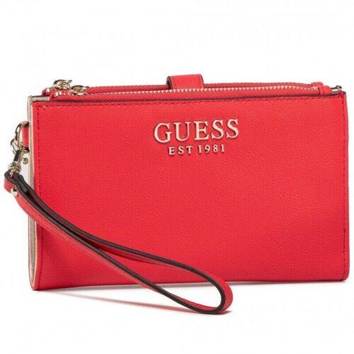 Portafoglio donna Guess organizer G Chain Slg ecopelle rosso A21GU04