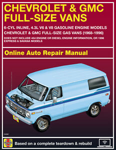 1984 gmc g2500 haynes online repair manual select access ebay rh ebay com GMC Vandura 2500 Conversion 1990 GMC Vandura 2500
