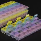7 Days 28 Slots Weekly Tablet Holder Medicine Storage Organizer Container Case