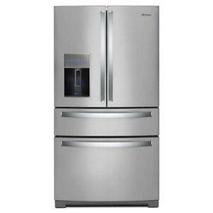 Whirlpool WRX986SIHZ 36 Inch 4-Door French Door Refrigerator with In-Door-Ice