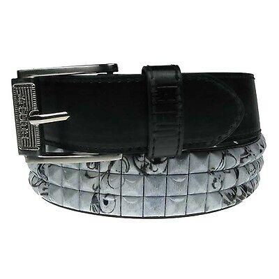 Silber Druckknopf Abnehmbare Schnalle 40mm Polyurethan Leder Erwachsene