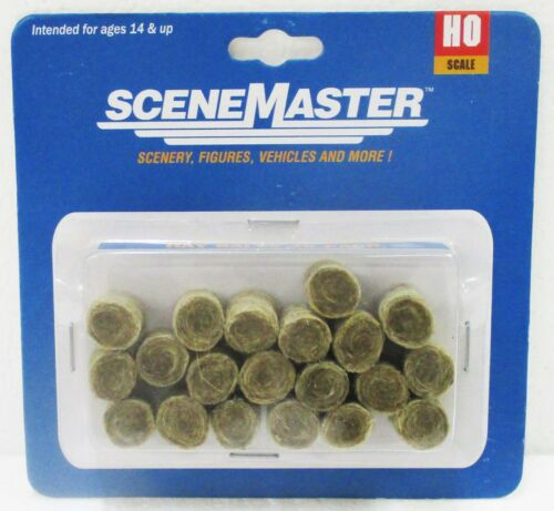 pcs HO Scale Walthers SceneMaster 949-4157 Round Hay Bale 20