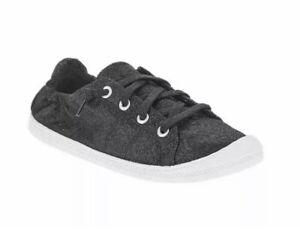 Scrunch Back Canvas Sneakers 6