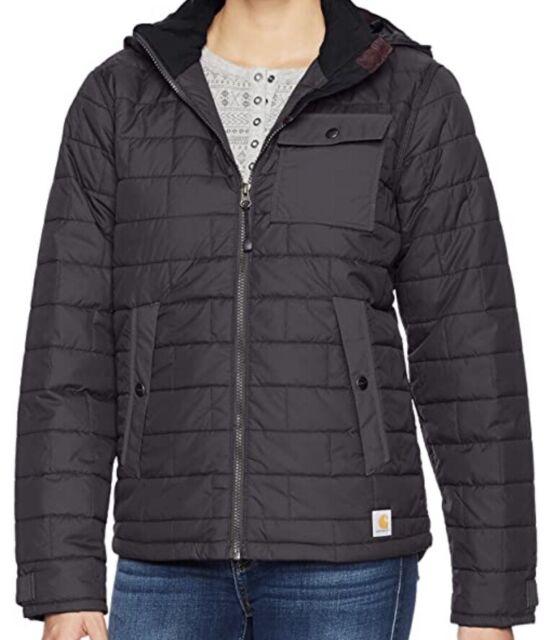 NWT Women's Carhartt Amoret Jacket, Black Size M   eBay