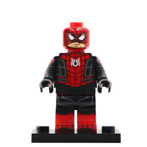 Peter-Parker-Spiderman-Far-From-Home-Lego-Moc-Minifigure-Gift-For-Kids
