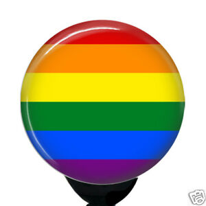 ID Badge Nurse Retractable Badge Reels// ID Badge Holder LGBT Rainbow Gay Pride