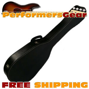 0f3d3c3a55 Details about Economy Chipboard Electric Bass Light Weight Hard Shell Guitar  Carrying Case
