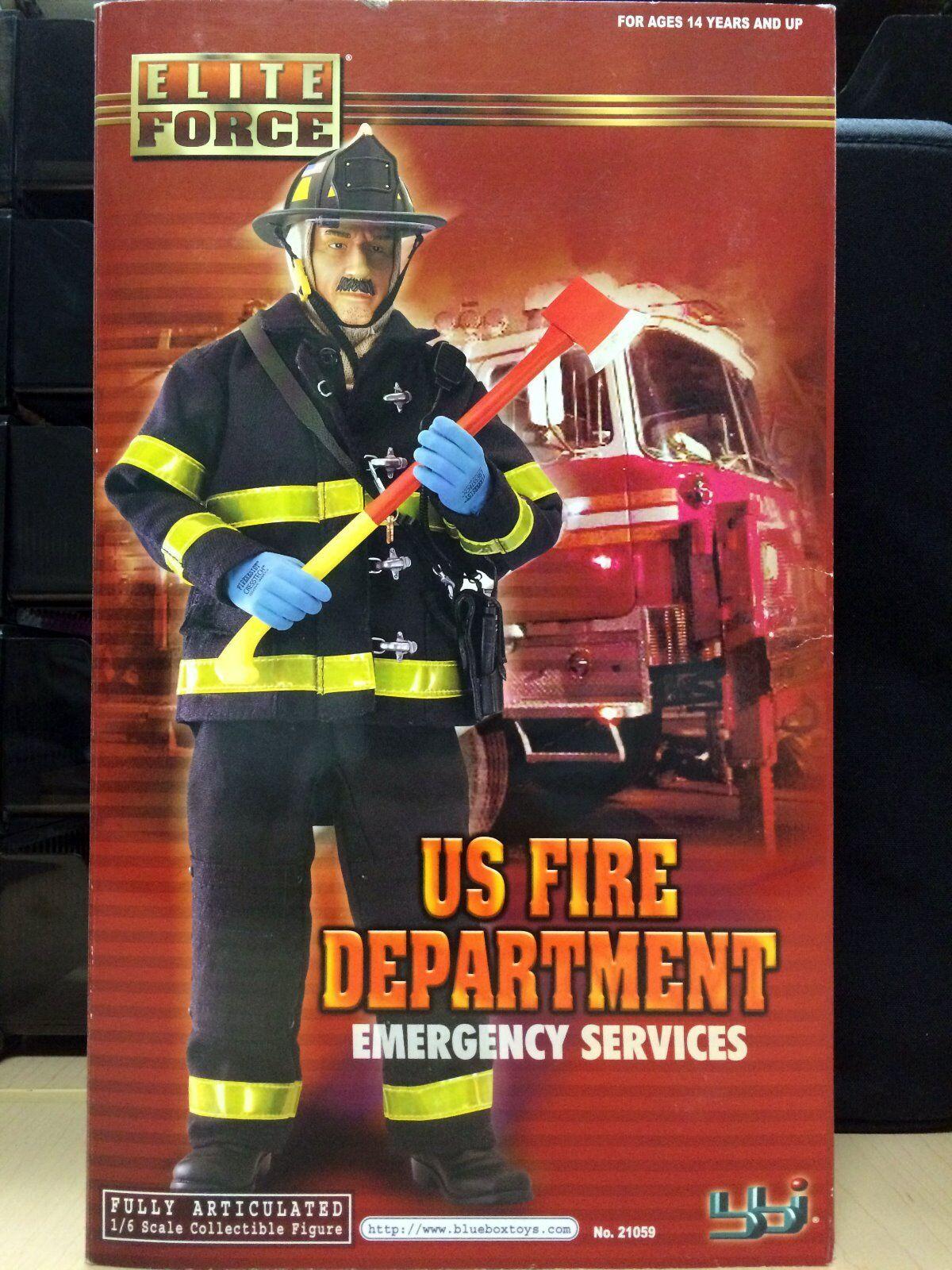 BBI 1 6 Figure RARE US Fire Department Emergency Services MIB - 21059