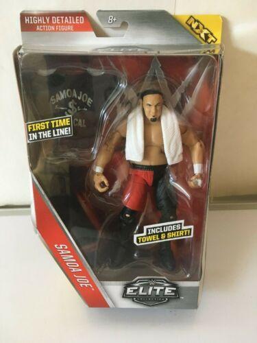 WWE ELITE SAMOA JOE NXT TOWEL AND SHIRT NEW SERIES 43