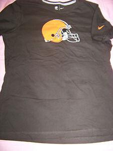 get cheap 3865d 97d72 Details about Nike Women's Cleveland Browns Shirt XL