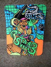 VTG SIMS Kevin Staab Pirate 1987 skateboard sticker-NOS - alva, sims, madrid