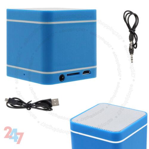 Mini Azul 300mAh altavoz manos libres inalámbrico Bluetooth 3.0 para PC Teléfono S247