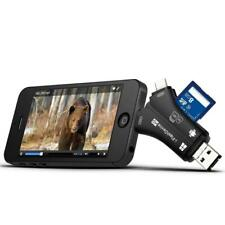 Trail Camera Viewer for iPhone iPad Mac & Android SD Micro Memory Card Reader