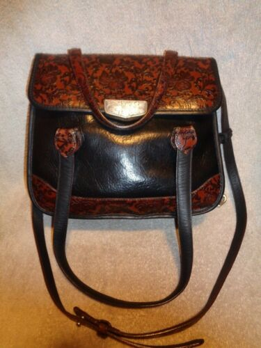 schoudertas Brighton Crossbody Leather Tooled Leather Tooled Brighton T3ulJcFK1