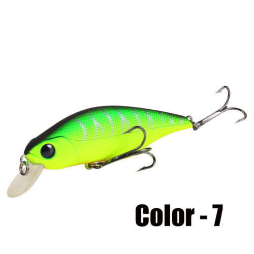 3D Eyes Minnow Artificial Baits Sinking Fishing Lure Fishing Tackle Crankbaits