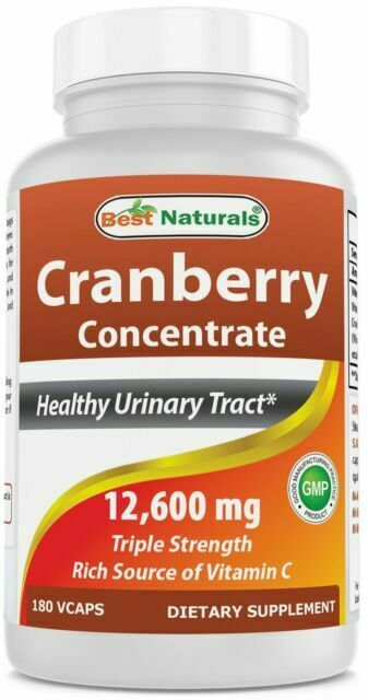 Best Naturals Cranberry 3x Strength 12600 Mg 180 Veggie Capsules 817716010755 For Sale Online Ebay