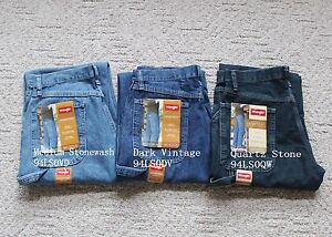 dadb031c NWT Wrangler Denim Carpenter Jeans Mens Loose Fit All sizes Three ...