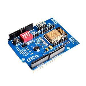 1PCS-ESP8266-ESP-12E-UART-WIFI-Wireless-Shield-TTL-Converter-for-Arduino-UNO-NEW