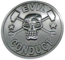 EVIL CONDUCT official Belt Buckle Oi! punk