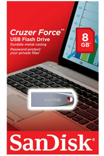 SanDisk 64GB 32GB 16GB 8GB Cruzer Force CZ71 USB Flash Pen Metal Drive OTG Lot