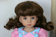 Dianna Effner Little Darling Doll BJD Ball Jointed Doll 7-8 Brunette Wig