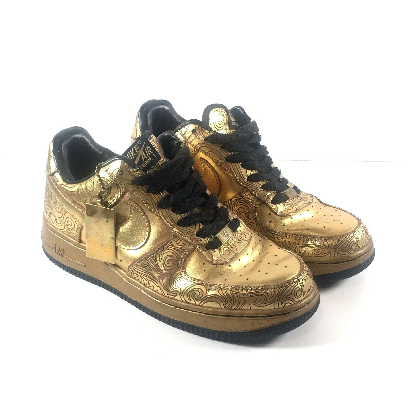 Nike Air Force 1 Low Supreme 339218-771 I O Beijing Closing Ceremony Men's Sz 8