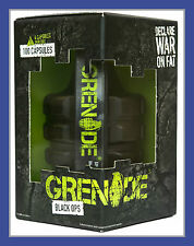 Grenade Black Ops 44 Caps Fat Burner Weight Loss Diet Pills. Thermogenic