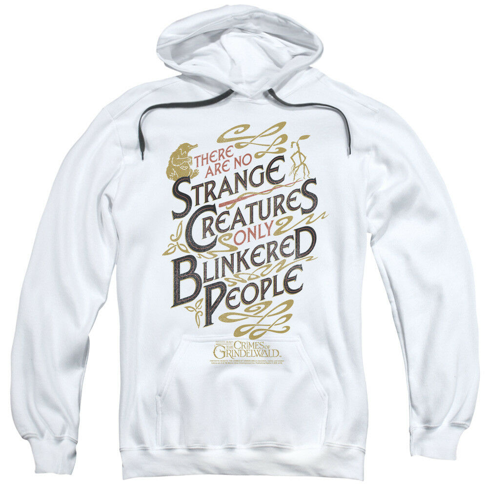 Fantastic Beasts 2 Strange Creatures BlinkeROT People Pullover Hoodie Sweatshirt