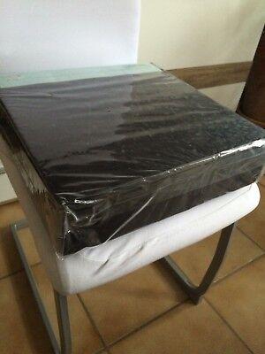 Kind-Hearted Stuhlerhöhung Orthopädische Sitzerhöhung Sitzkissen 40 X 40 X 10 Cm Other Schwarz