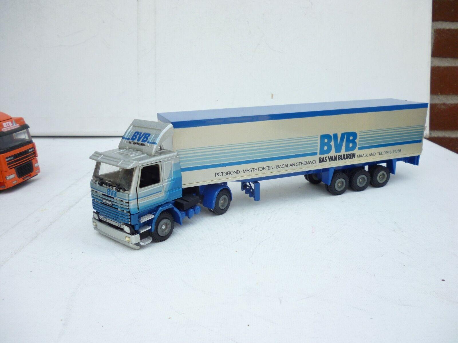 envio rapido a ti 1 50 TEKNO TEKNO TEKNO Scania 142 M V-8 BVB Bas Van Buren Maasland  Good Condition  Envío y cambio gratis.