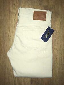 'astor 145 Womens W26 Jeans Rrp beige Ralph Boyfriend' Bnwt bianchi Lauren £ apEqcR