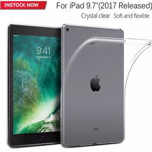 Fo-Apple-iPad-9-7-034-A1822-A1823-Crystal-Clear-Soft-TPU-Case-Protective-Cover-Skin