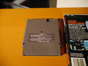 Super-Mario-Bros-NES-Nintendo-Entertainment-Spiel-Game-OVP-guter-Zustand