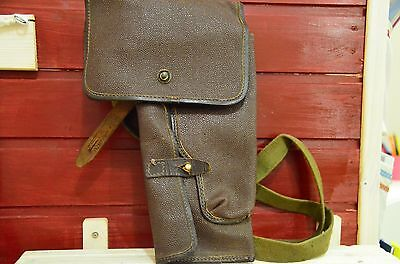 Authentic Soviet, Russian army, holster for SPSh-44, Shpagin flare pistol