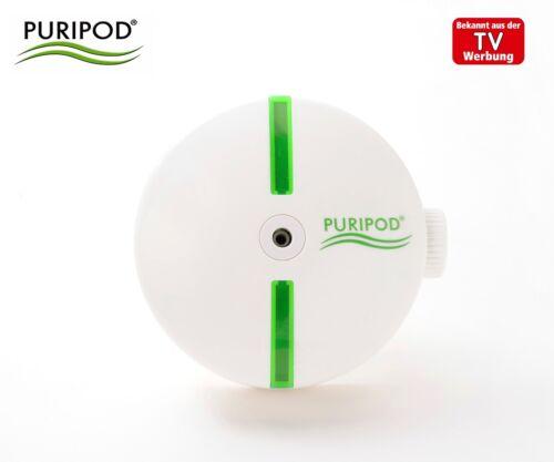 Puripod Ionenluftreiniger Luftreiniger Ionisator Raumklima lautlos Luftfilter