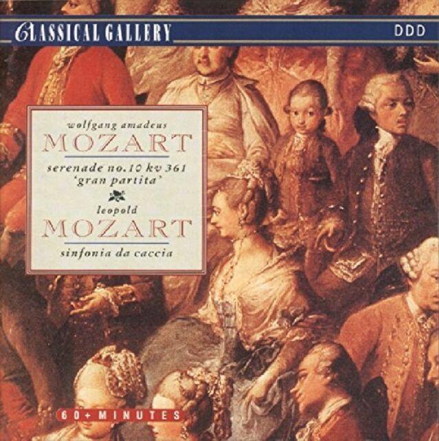 SERENAED/SINFONIA -  MOZART,W.A./MOZART,L.   CD NEU
