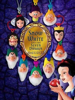 2001 McDonalds Snow White MIP Complete Set - Lot of 8, Boys & Girls, 3+