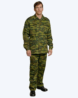 Original Russian Army Military Uniforms Camouflage Suit Flora, New