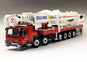 XCMG-1-50-dg100-Aerial-Platform-mercedes-benz-Fire-Truck-DIECAST-Model-Toy