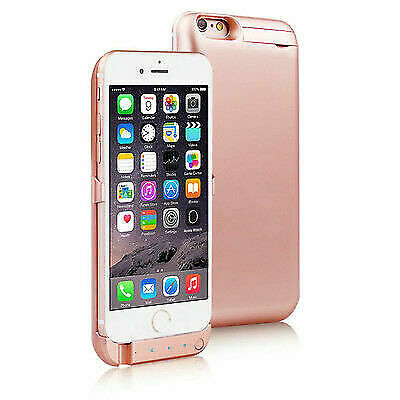 10000mah Powerbank Case Rechargeable Protective Battery Case Iphone 6s Rose Gold For Sale Online Ebay